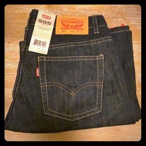 Levi's 505 boys jeans